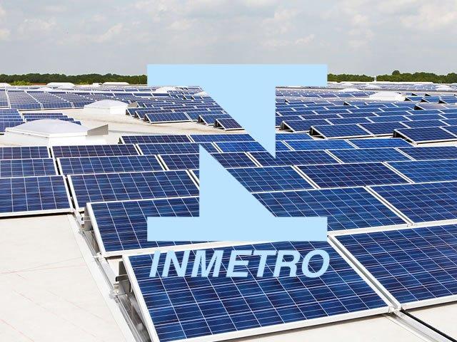 painel solar com certificação inmetro