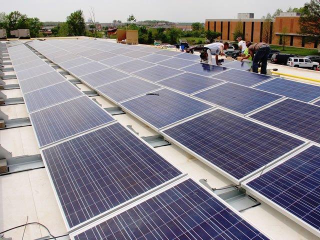 quantidade de paineis solares