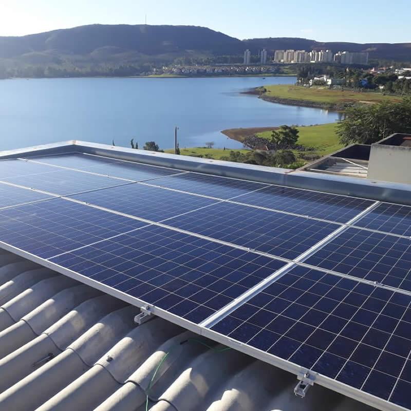 Aplicações de gerador de energia solar