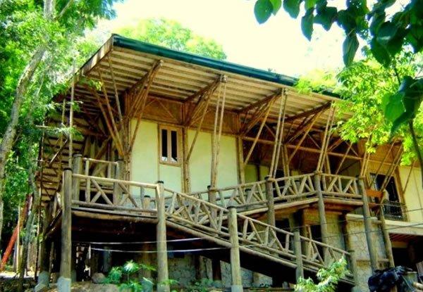 casa sustentavel bambu