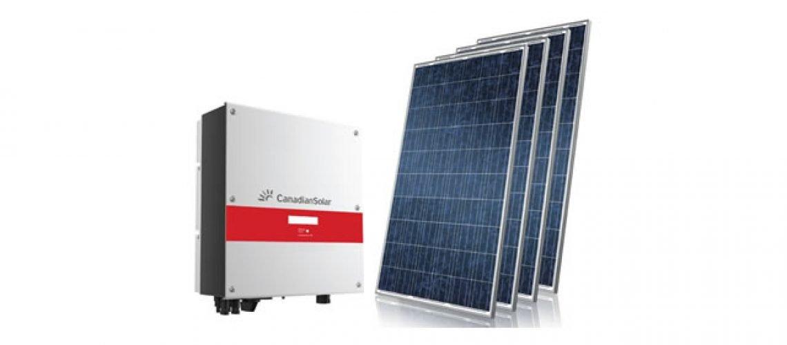 inversor solar com paineis solares